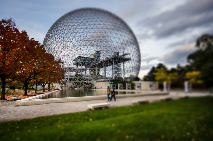 Biosphère in autumn