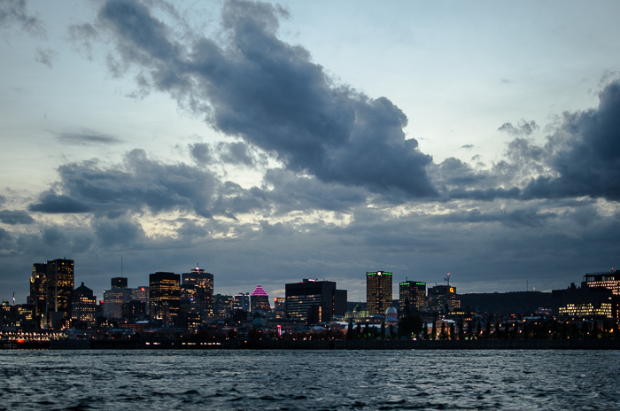 Montreal Skyline at dusk