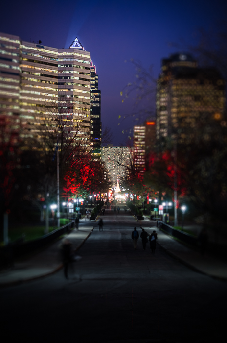 McGill Campus in festive mood